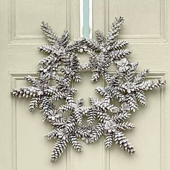 Snowflakes Inspiration Favorite Christmas Decorating Ideas (27)