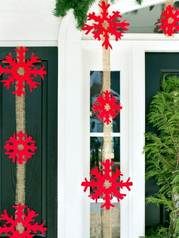 Snowflakes Inspiration Favorite Christmas Decorating Ideas (5)