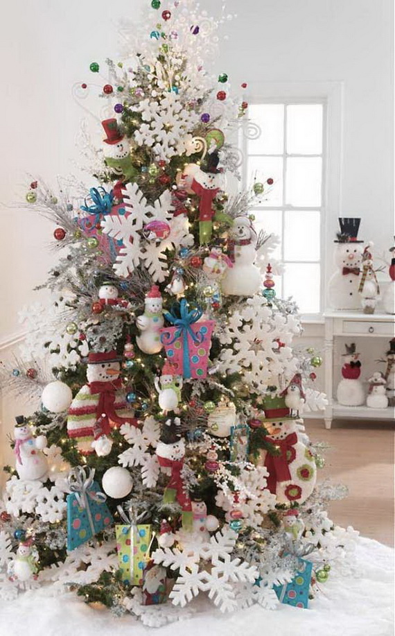 Christmas Tree Decorated.50 Festive Christmas Tree Decorating Ideas Family Holiday