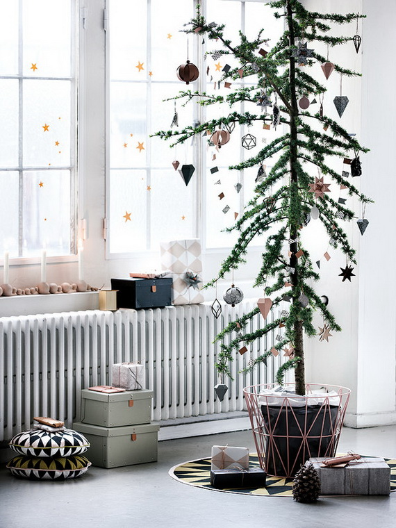 The most stylish Christmas Ornaments Decorations_10