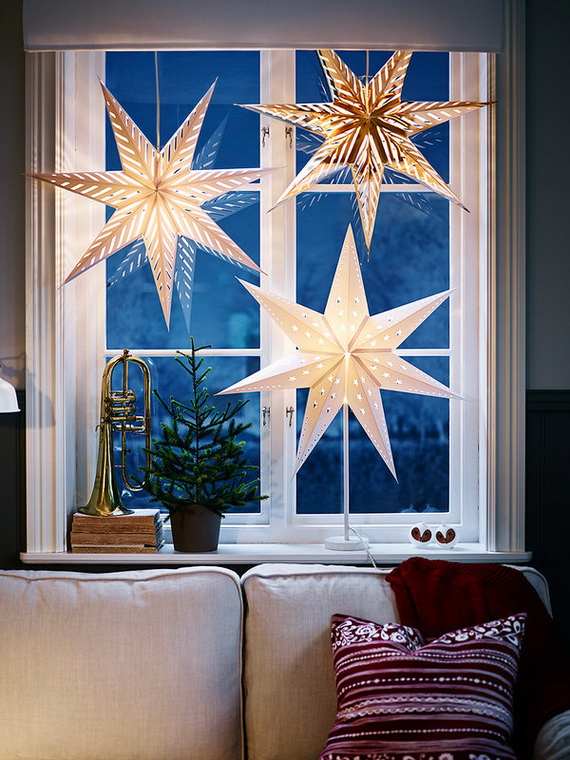 The most stylish Christmas Ornaments Decorations_37