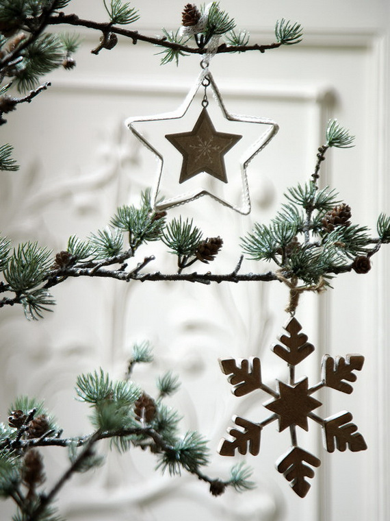 The most stylish Christmas Ornaments Decorations_52