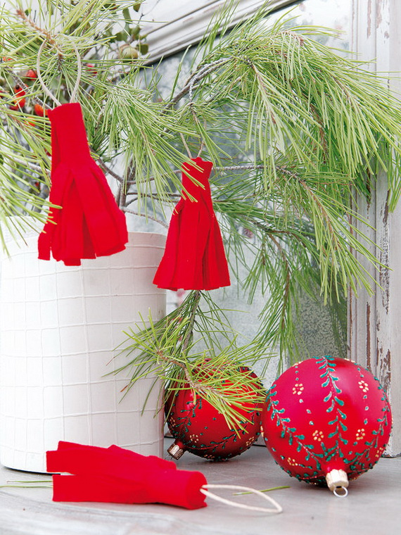 The most stylish Christmas Ornaments Decorations_56
