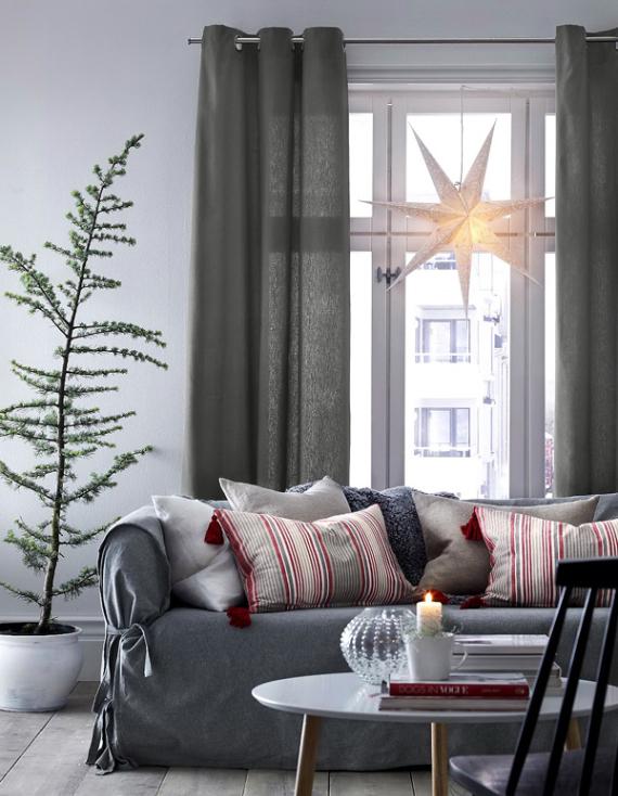 A Little More Festive Scandinavian Christmas Decor (8)