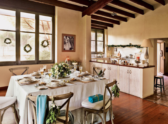 Christmas In A Country House In Spain  (11)