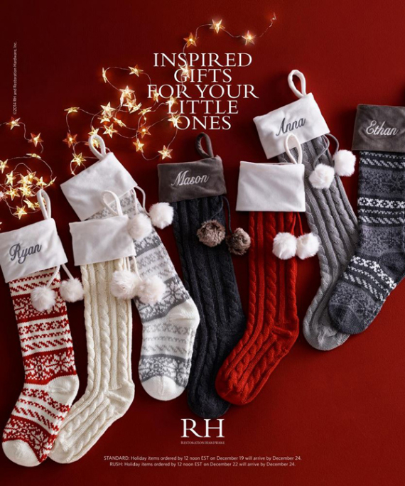 Happy Holidays For Children From Restoration Hardware  (38)
