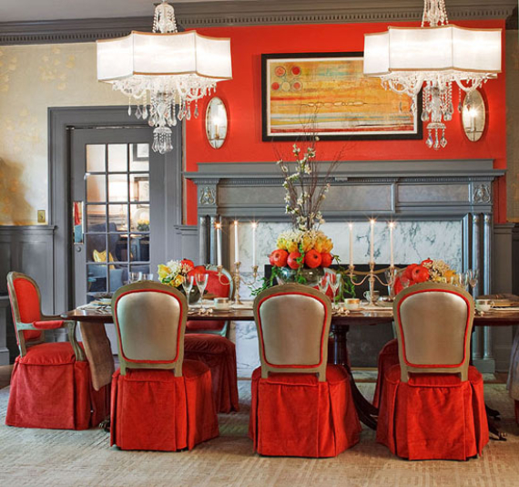 Hot Valentine Room Designs in Rich and Energetic Red Colors   (15)