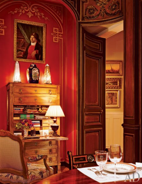 Hot Valentine Room Designs in Rich and Energetic Red Colors   (39)