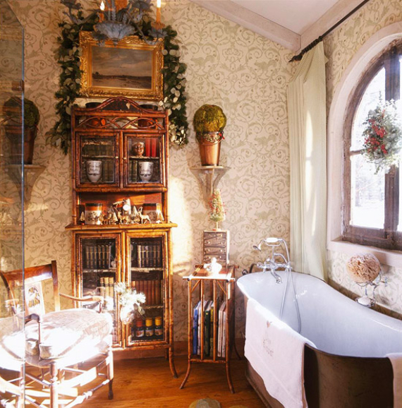 Romantic French Flair Rooms and Decorating Ideas (11)
