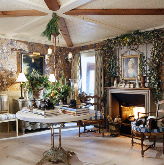 Romantic French Flair Rooms and Decorating Ideas (19)