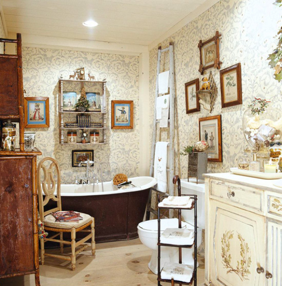 Romantic French Flair Rooms and Decorating Ideas (22)