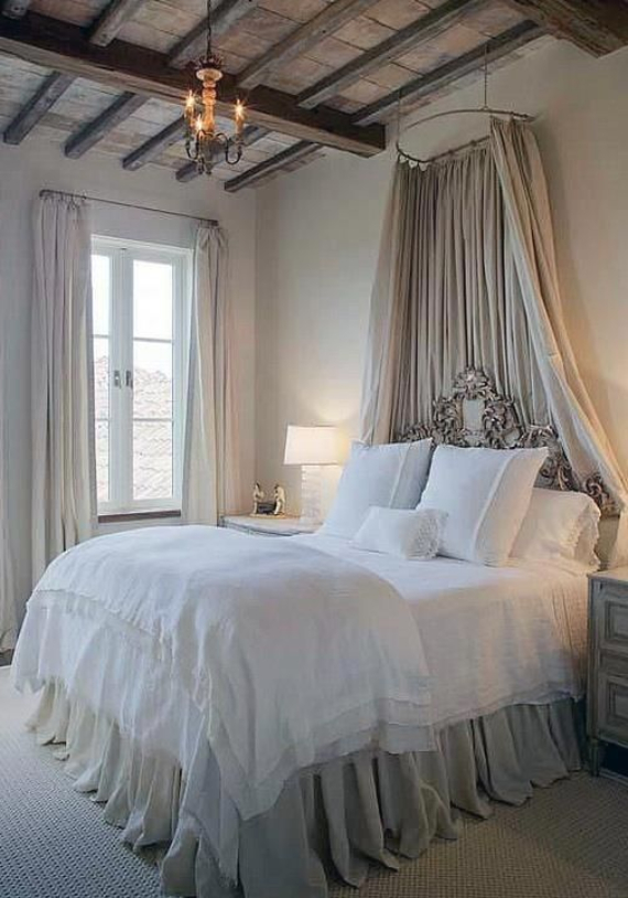 Romantic French Flair Rooms and Decorating Ideas (26)