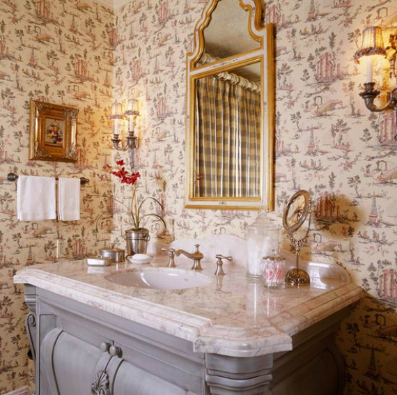 Romantic French Flair Rooms and Decorating Ideas (29)