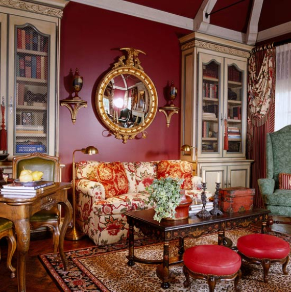 Romantic French Flair Rooms and Decorating Ideas (33)