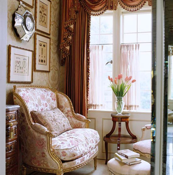 Romantic French Flair Rooms and Decorating Ideas (39)
