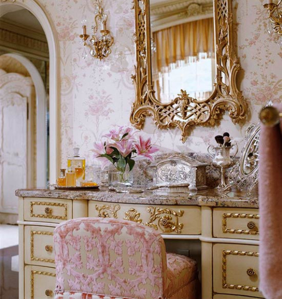 Romantic French Flair Rooms and Decorating Ideas (41)