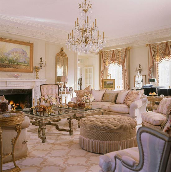Romantic French Flair Rooms and Decorating Ideas (42)