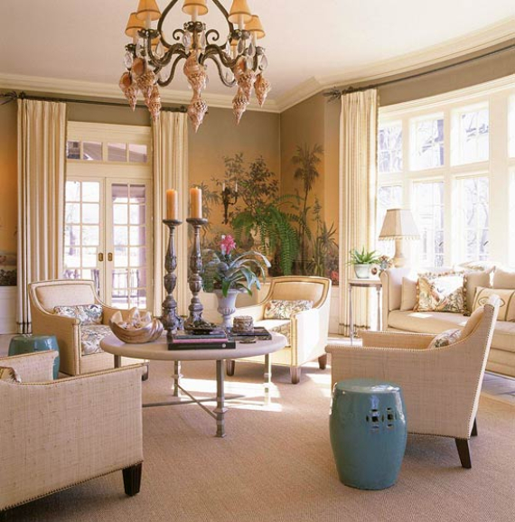 Romantic French Flair Rooms and Decorating Ideas (43)
