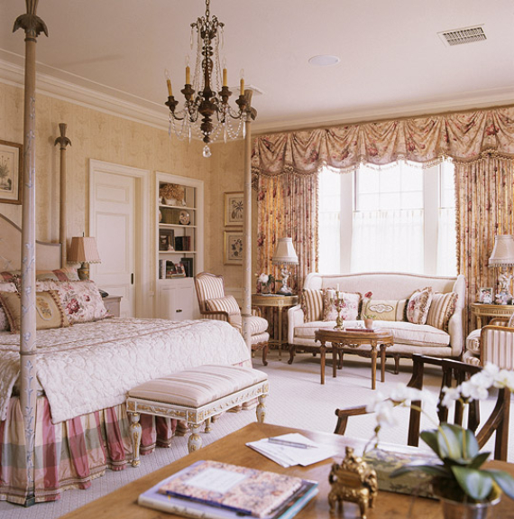 Romantic French Flair Rooms and Decorating Ideas (47)