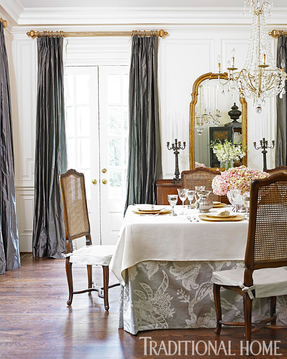 Romantic French Flair Rooms and Decorating Ideas (50)