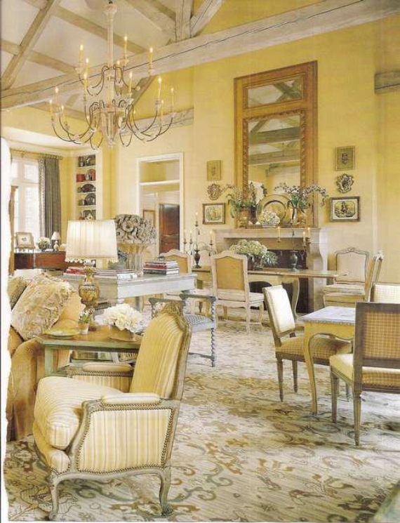 Romantic French Flair Rooms and Decorating Ideas (58)