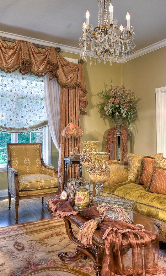 Romantic French Flair Rooms and Decorating Ideas (59)