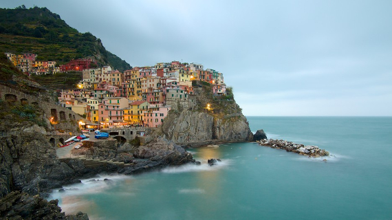The Colorful Cliff-Side Town of Manarola , La Spezia,  Italy (11)