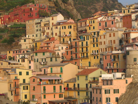 The Colorful Cliff-Side Town of Manarola , La Spezia,  Italy (30)