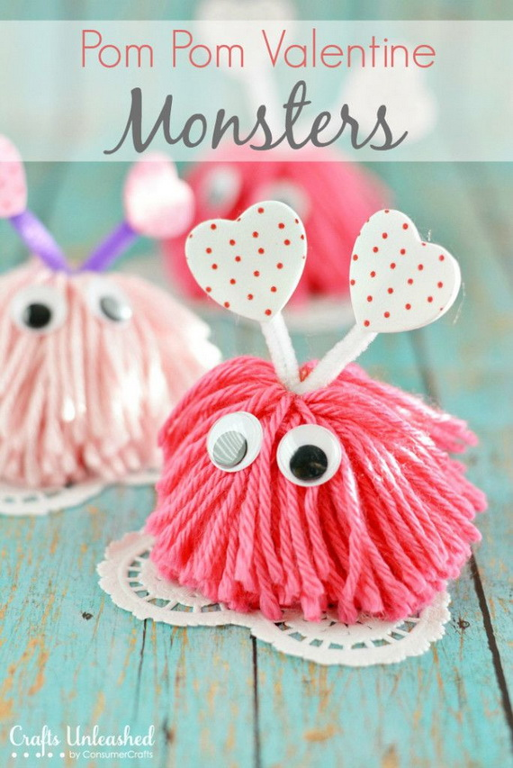 Valentine's Day Crafts For The Whole Family (44)