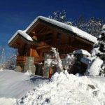 Brilliant Ski Resort Winter Escape: The Chalet Altair  in the French Alps