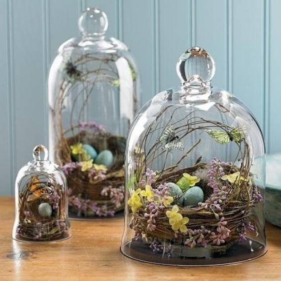 Beautiful Ideas For The Spirit Of Easter And Spring Into Your Home Decor (1)