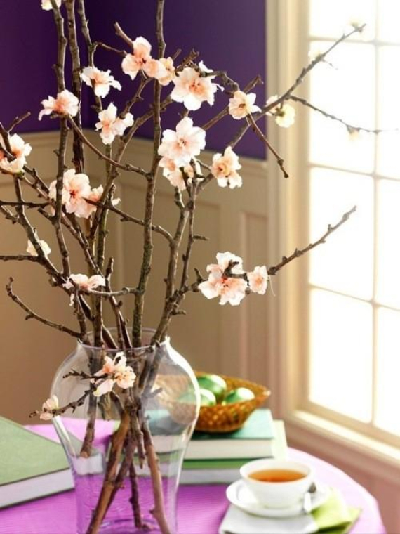 Beautiful Ideas For The Spirit Of Easter And Spring Into Your Home Decor (17)