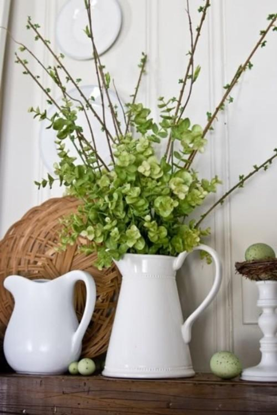 Beautiful Ideas For The Spirit Of Easter And Spring Into Your Home Decor (29)