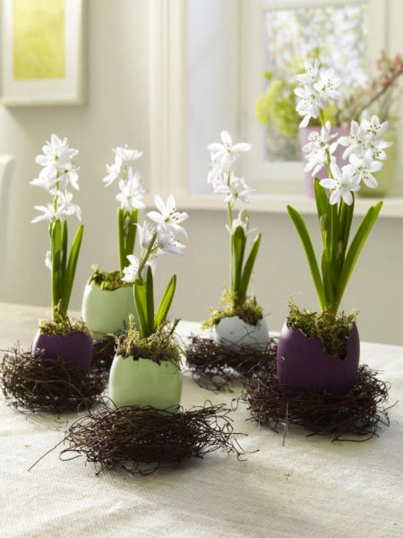Beautiful Ideas For The Spirit Of Easter And Spring Into Your Home Decor (3)