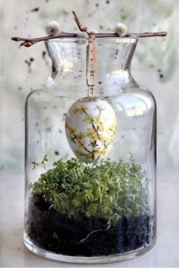 Beautiful Ideas For The Spirit Of Easter And Spring Into Your Home Decor (33)