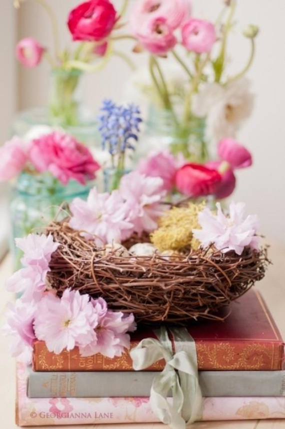 Beautiful Ideas For The Spirit Of Easter And Spring Into Your Home Decor (36)