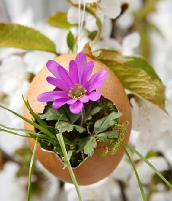 Beautiful Ideas For The Spirit Of Easter And Spring Into Your Home Decor (40)