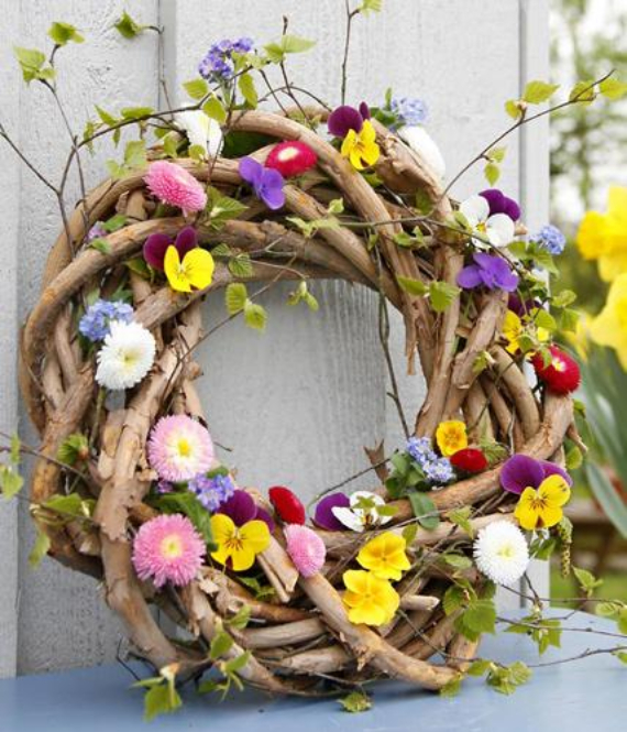 Beautiful Ideas For The Spirit Of Easter And Spring Into Your Home Decor (41)