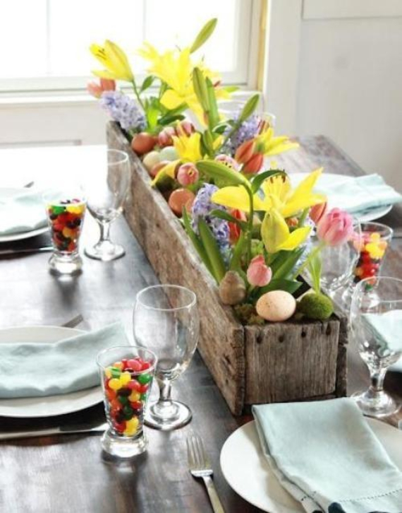 Beautiful Ideas For The Spirit Of Easter And Spring Into Your Home Decor (53)