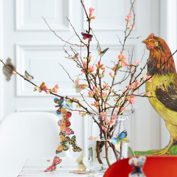 Beautiful Ideas For The Spirit Of Easter And Spring Into Your Home Decor (8)