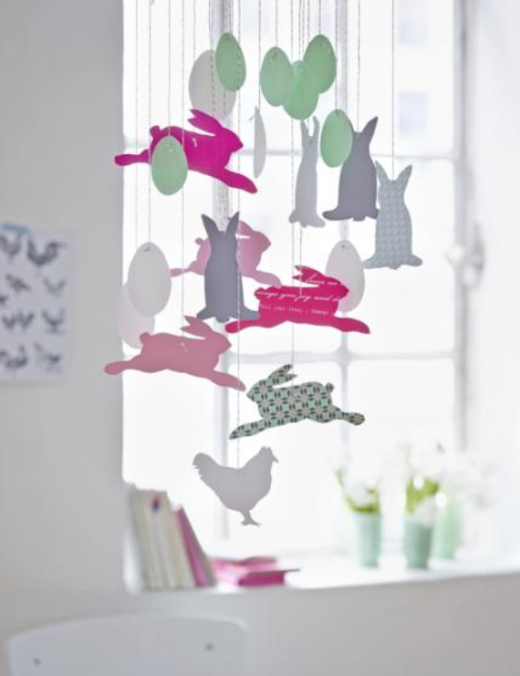 Easter decorations and crafts inspiration ideas (17)