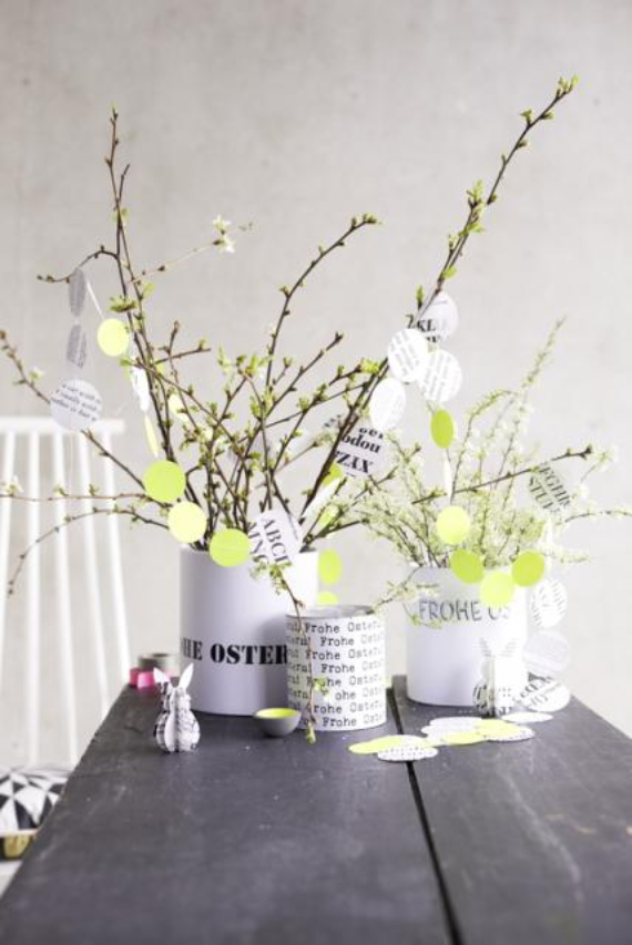 Easter decorations and crafts inspiration ideas (45)