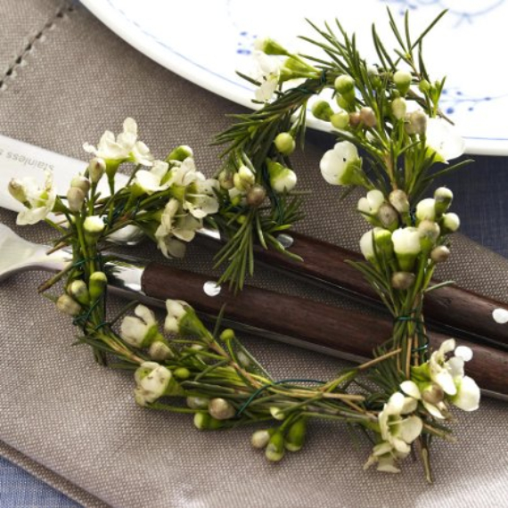Floral Table Decoration For A Romantic Valentine's Day (10)