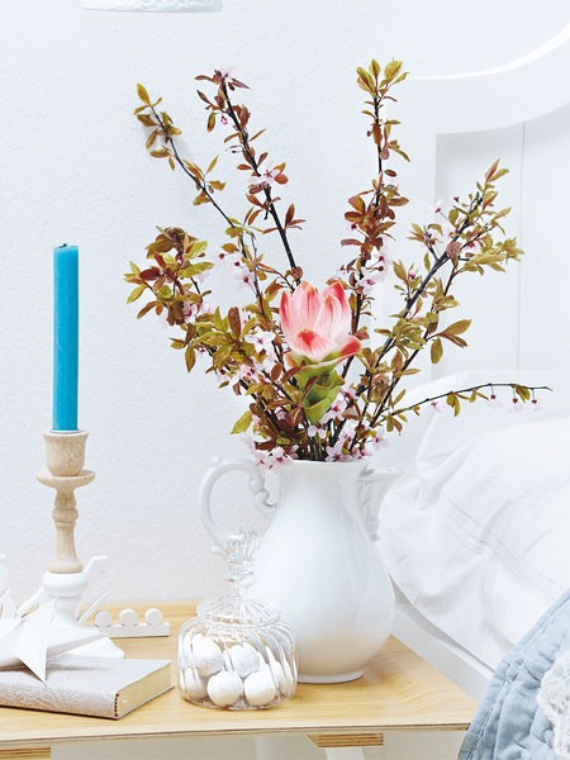 Floral Table Decoration For A Romantic Valentine's Day (12)
