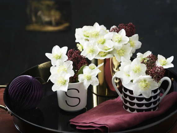 Floral Table Decoration For A Romantic Valentine's Day (17)