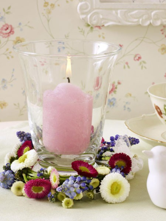 Floral Table Decoration For A Romantic Valentine's Day (23)