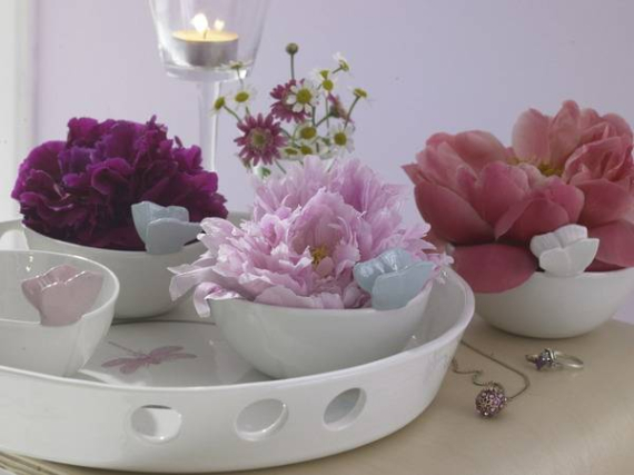 Floral Table Decoration For A Romantic Valentine's Day (27)