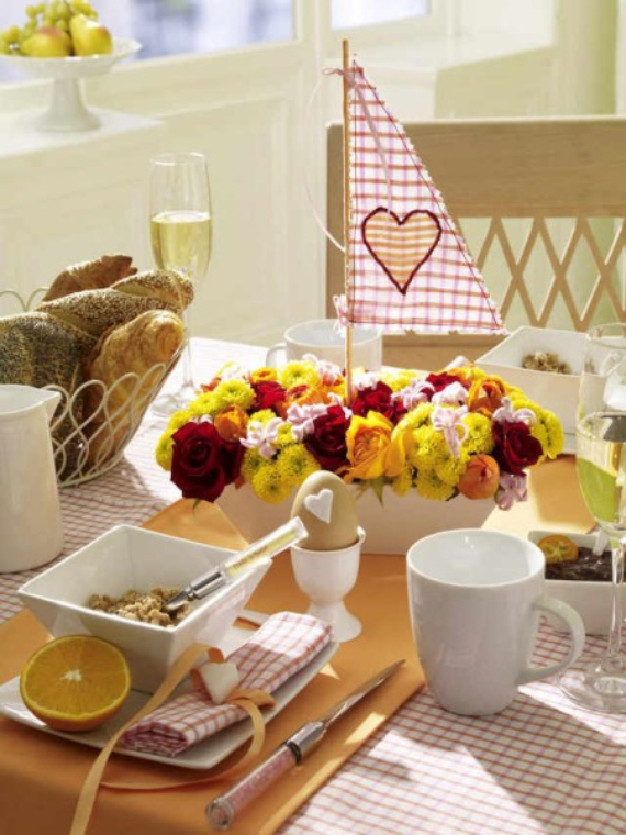 Floral Table Decoration For A Romantic Valentine's Day (3)