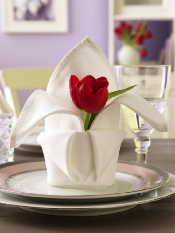 Floral Table Decoration For A Romantic Valentine's Day (4)