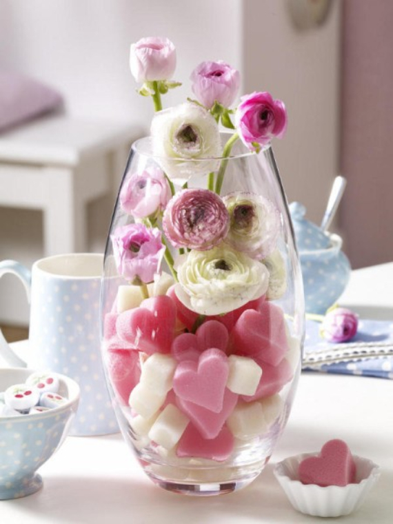 Floral Table Decoration For A Romantic Valentine's Day (7)
